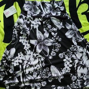 Lularoe skirt nwt azure skirt